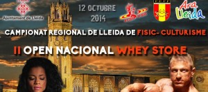 II Open Nacional Whey Store FEFF 2014 6.000 € + Cto Regional Lleida