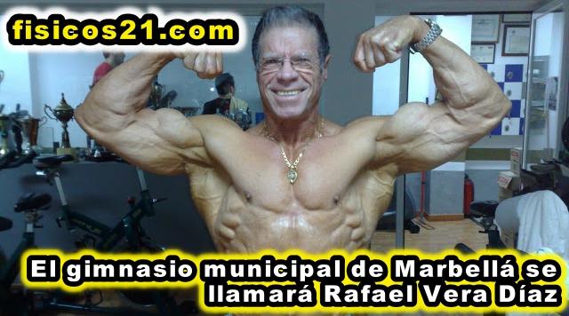 El gimnasio Municipal de Marbella se llamará Rafael Vera