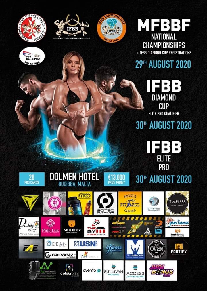 IFBB Diamond Cup Malta 2020