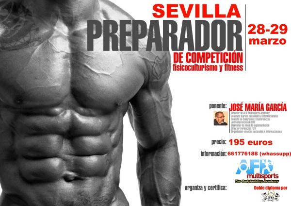 Curso Preparador de Competición AFD/IFBB Sevilla marzo 28-29/2020