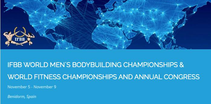 Ctos Mundo IFBB 2020, Masculinos y Femeninos en ESPAÑA, Benidorm