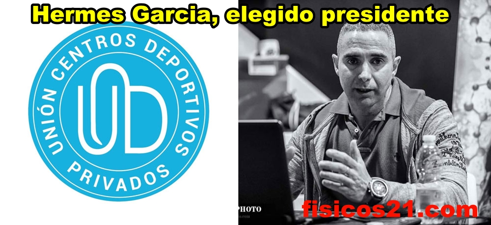 Hermes García Rivas, presidente de la Unión de Centros Deportivos Privados de España