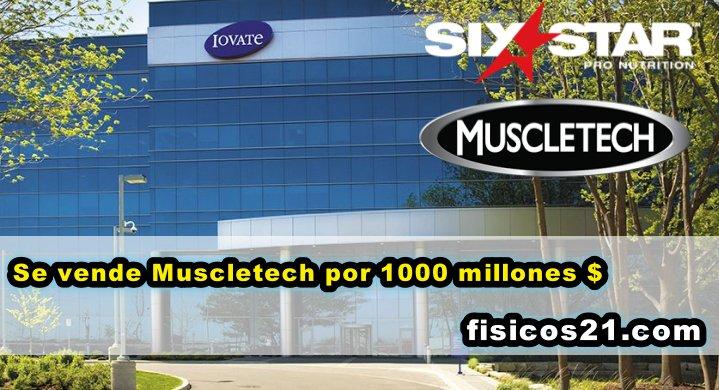 MuscleTech se vende por 1.000 millones $
