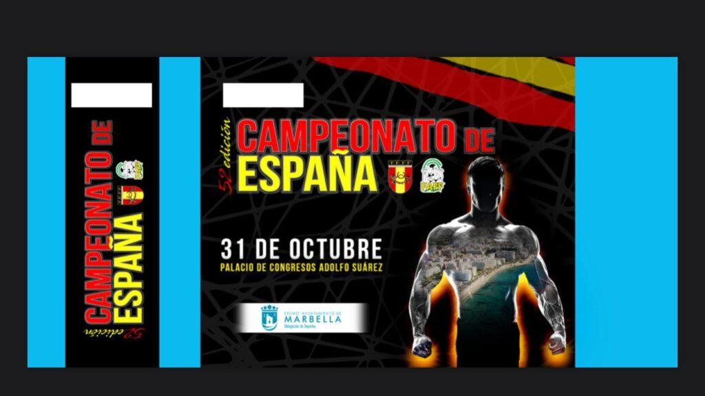 LII Ctos España Fisicoculturismo y Fitness FEFF IFBB 2020 Marbella; Resultados