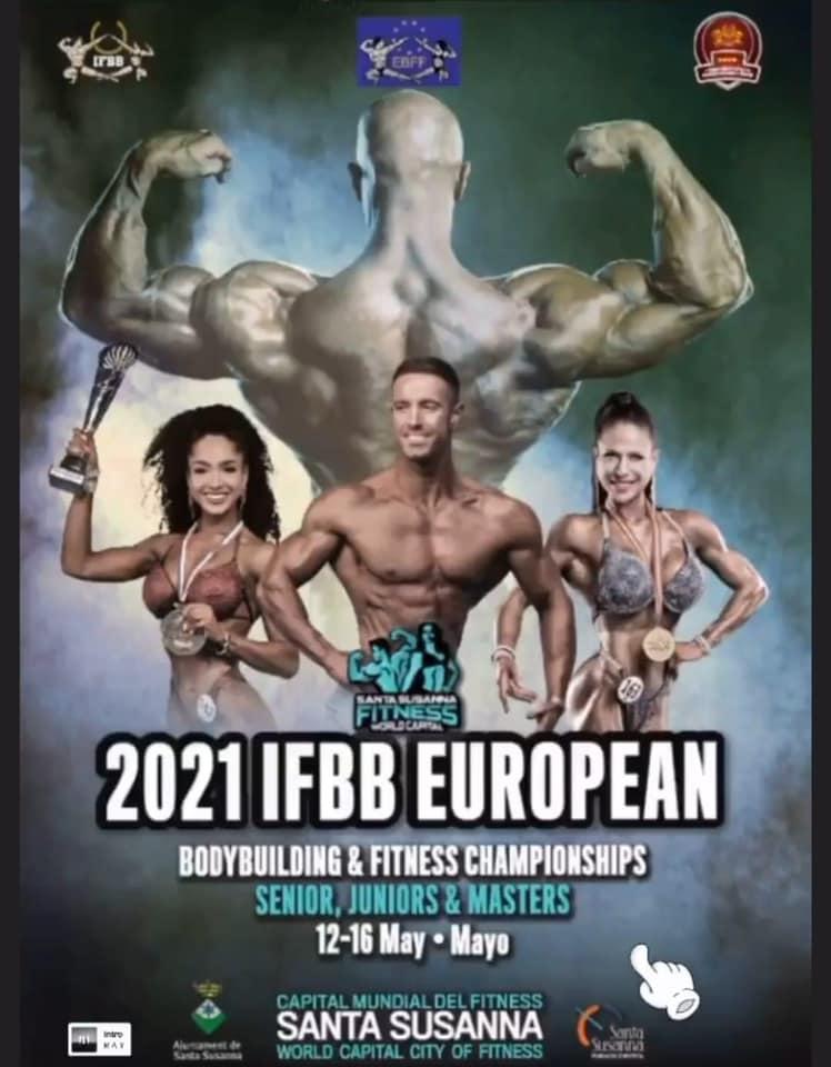 Ctos Europa IFBB 2021 Preselección España; Listados provisionales (19)